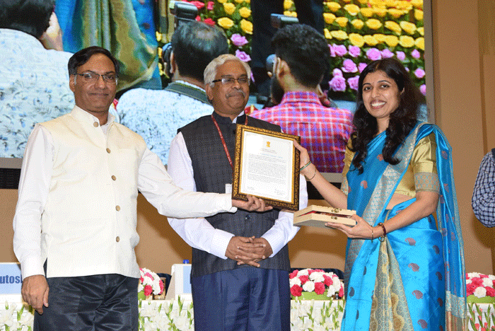 Young Researcher Award 2018 by Ministry of Earth Sciences